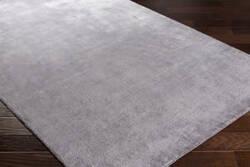 Surya Linen Lin-1001 Charcoal Area Rug