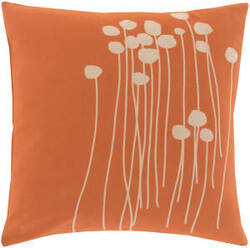 Surya Abo Pillow Lja-001 Orange