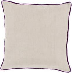 Surya Linen Piped Pillow Lp-007