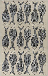 Surya Lighthouse LTH-7027 Bone Area Rug