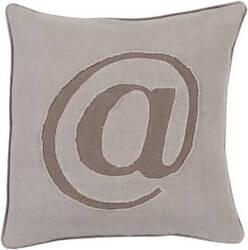 Surya Linen Text Pillow Lx-003
