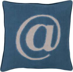 Surya Linen Text Pillow Lx-004