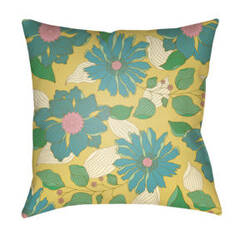 Surya Moody Floral Pillow Mf-030