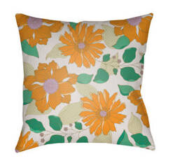 Surya Moody Floral Pillow Mf-031