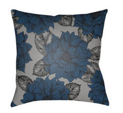 Surya Moody Floral Pillow Mf-047