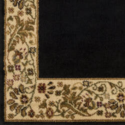 Surya Midtown Mid-1062 Black Area Rug