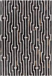 Surya Medora Mod-1017 Black / Brown Area Rug