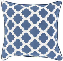 Surya Moroccan Printed Lattice Pillow Mpl-001