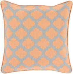 Surya Moroccan Printed Lattice Pillow Mpl-004