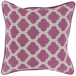 Surya Moroccan Printed Lattice Pillow Mpl-005