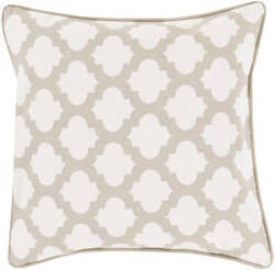 Surya Moroccan Printed Lattice Pillow Mpl-007