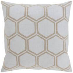 Surya Metallic Stamped Pillow Ms-003