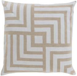 Surya Metallic Stamped Pillow Ms-004