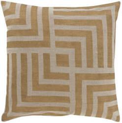 Surya Metallic Stamped Pillow Ms-006