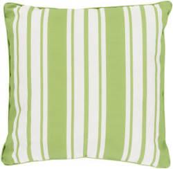 Surya Nautical Stripe Pillow Ns-006