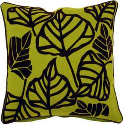 Surya Pillows P-0108 Lime/Black