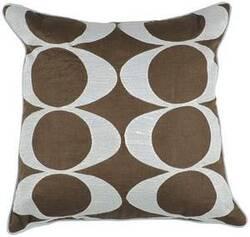 Surya Pillows P-0180 Chocolate/Light Gray
