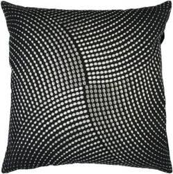 Surya Pillows P-0223 Black/Gray