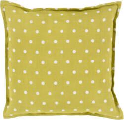 Surya Polka Dot Pillow Pd-002 Moss