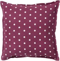 Surya Polka Dot Pillow Pd-003 Rust