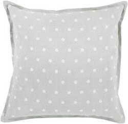 Surya Polka Dot Pillow Pd-007 Slate