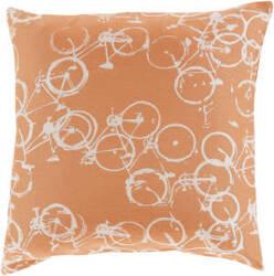 Surya Pedal Power Pillow Pdp-003 Rust