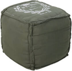 Surya Poufs Pouf-57 Hunter Green