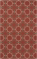Surya Rain RAI-1146 Red Area Rug