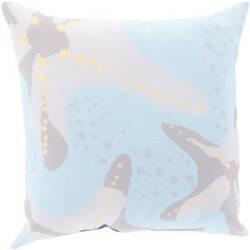 Surya Rain Pillow Rg-141 Sky Blue