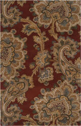 Surya Sea Sea-167 Red Clay Area Rug