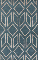 Surya Skyline Skl-2000 Teal / Gray Area Rug
