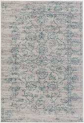 Surya Stretto Sro-1015 Gray - Teal Area Rug