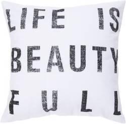Surya Pillows ST-081 Ivory/Black