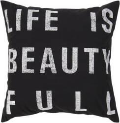 Surya Pillows ST-082 Black/Ivory