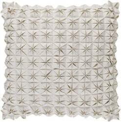 Surya Structure Pillow Suu-004 White
