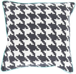Surya Houndstooth Pillow Sy-034
