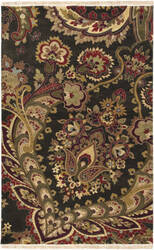 Surya Taj Mahal TJ-6584 Dark Brown Area Rug