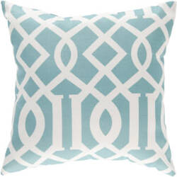 Surya Pillows ZZ-417 Teal/Ivory