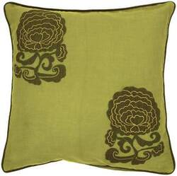 Surya Pillows P-0111 Lime/Olive