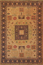 Tibet Rug Company Soumak Kazak Design 7 Area Rug