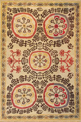 Tibet Rug Company Soumak Suzani 1 Area Rug