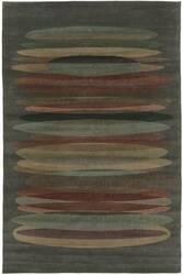 Tibet Rug Company 100 Knot Premium Tibetan Tall Stack Grey Area Rug