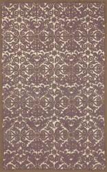 Trans-Ocean Antigua Scroll Lavender 8515/49 Area Rug