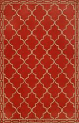 Trans-Ocean Ravella Floor Tile Red 1976/24 Area Rug