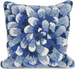 Trans-Ocean Frontporch Pillow Mum 1828/03 Blue