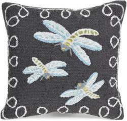 Trans-Ocean Frontporch Pillow Dragonfly 2048/47 Midnight