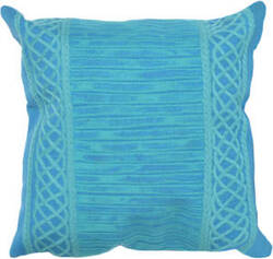 Trans-Ocean Visions Ii Pillow Celtic Stripe 4117/16 Emerald Area Rug