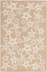 Trans-Ocean Capri Starfish 1667/12 Neutral Area Rug