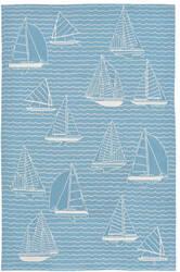 Trans-Ocean Capri Sails 1673/04 Ocean Area Rug