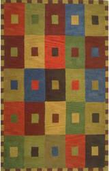 Trans-Ocean Inca Squares 9440/44 Multi Area Rug